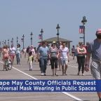 Cape May County Officials Request Universal Mask Wearing In Public