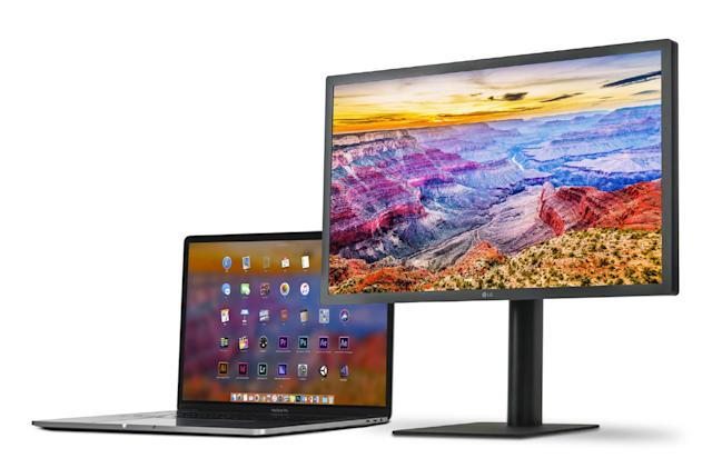 LG's updated UltraFine 5K display works with your iPad Pro