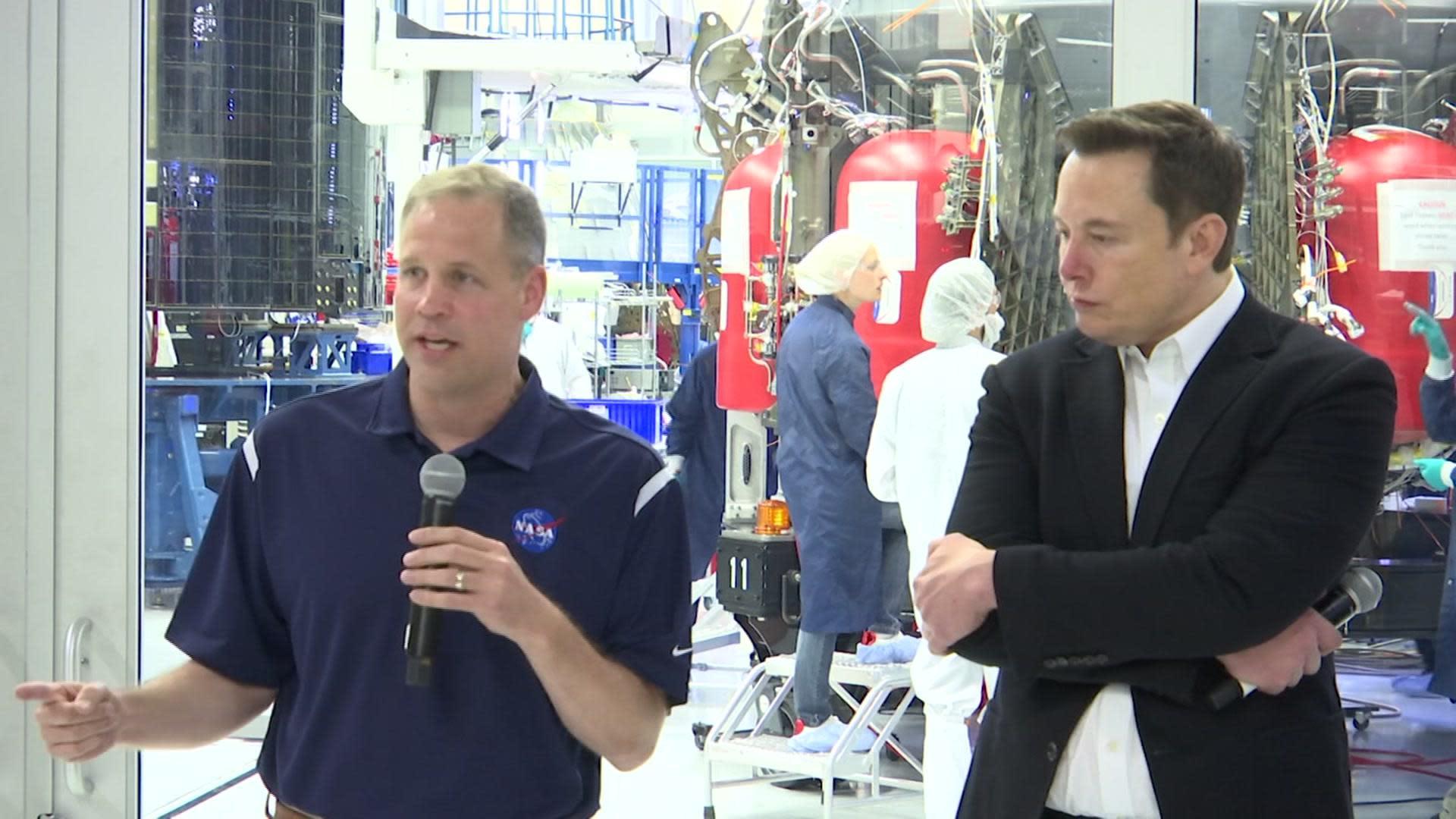 Musk defends NASA capsule delay: 'space is hard'