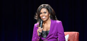 Michelle Obama shares her workout playlist