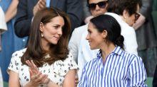 Día de chicas para Meghan Markle y Kate Middleton