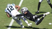 Report: Panthers WR D.J. Moore fined by NFL for pushing Lamarcus Joyner