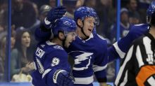 Palat scores twice, Lightning beat Bruins to lead series 3-1