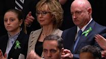 """Giffords, Newtown victims """"deserve a simple vote,"""" Obama says"""