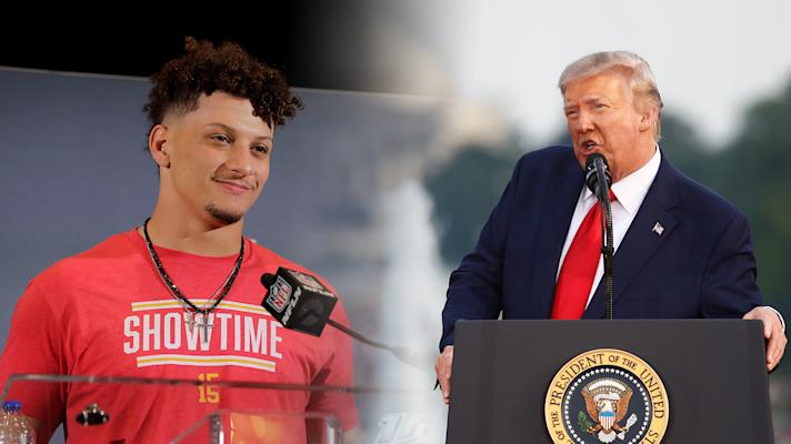 The Rush: Patrick Mahomes hits the jackpot, sports hit a nerve for Trump