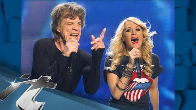 Music News Pop: Carrie Underwood Performs With the Rolling Stones