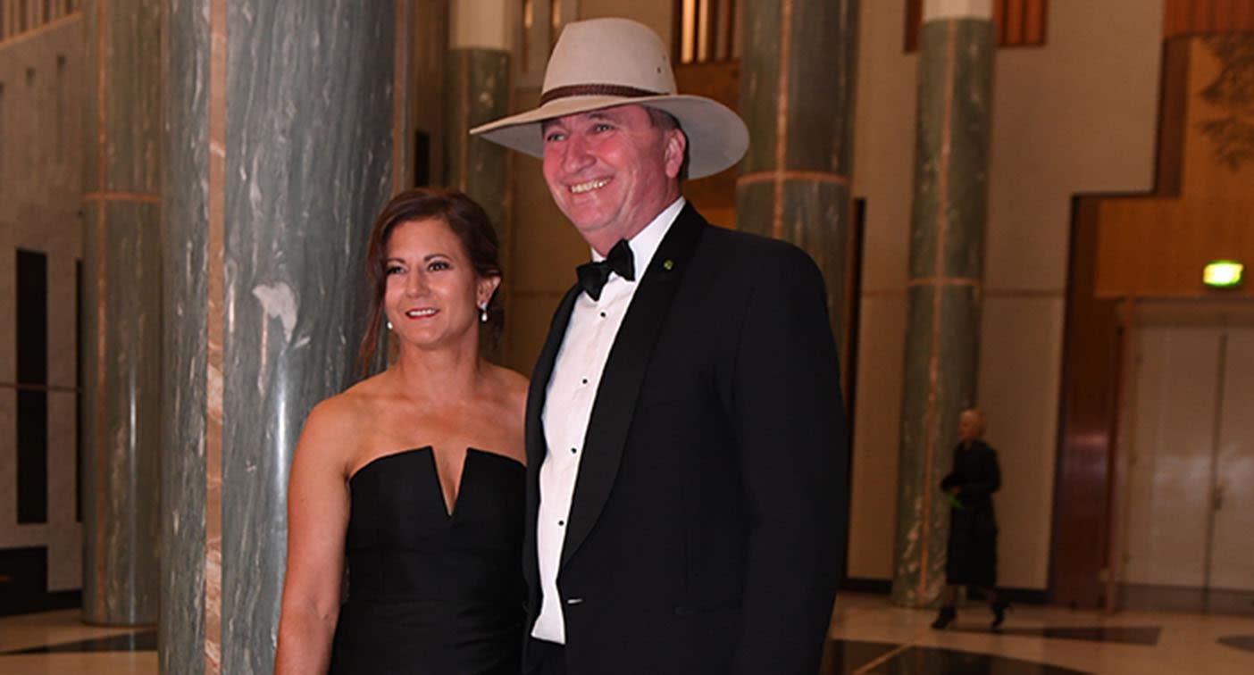 Natalie Joyce reveals heartache behind smiling Barnaby photo