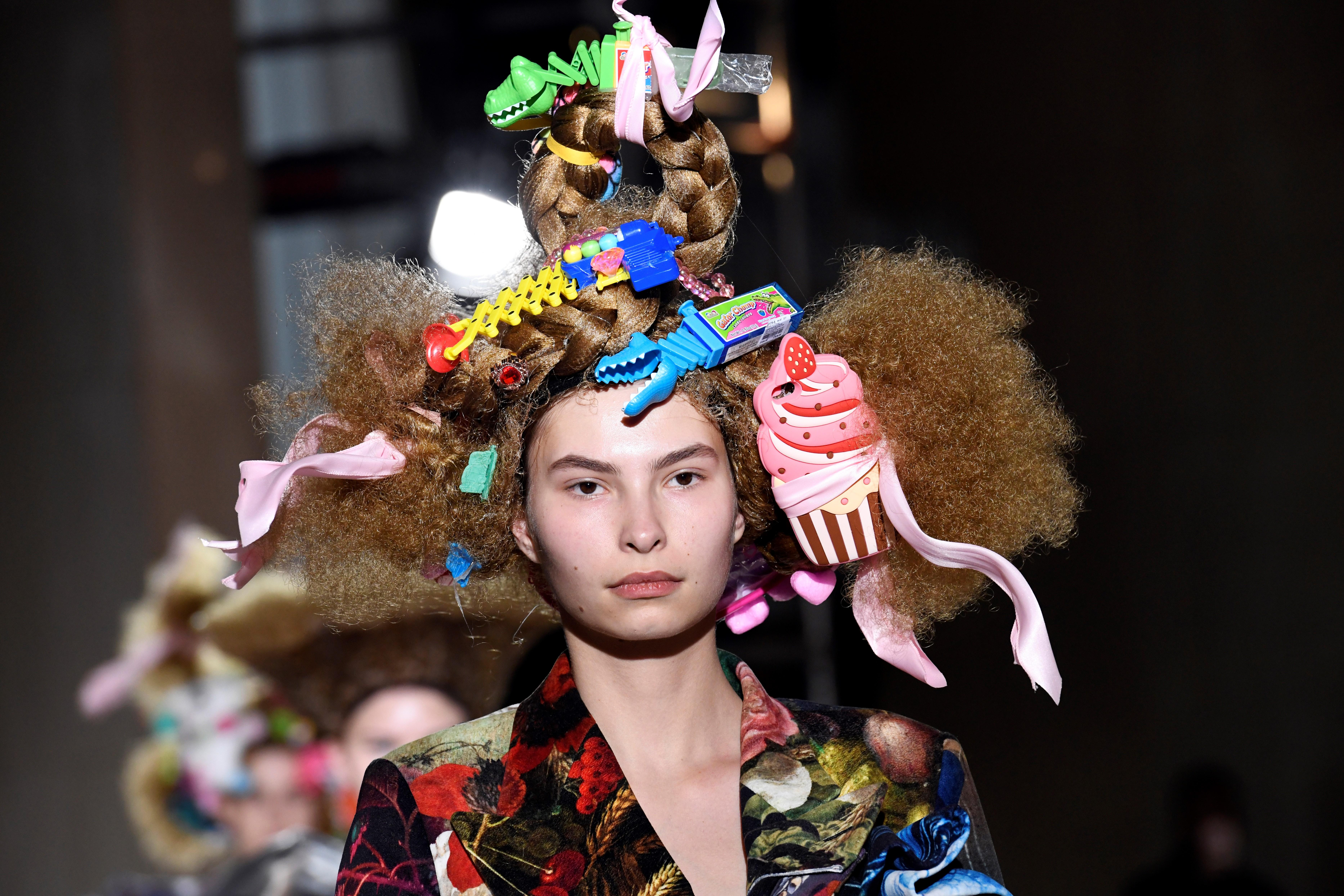 78911289 Hair accessories that stole the show this Fashion Month