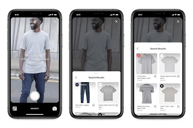 Facebook is working on visual search for Instagram.