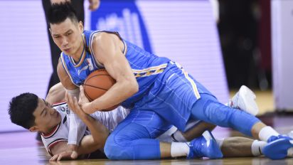 Lin takes a physical beating in Chinese league