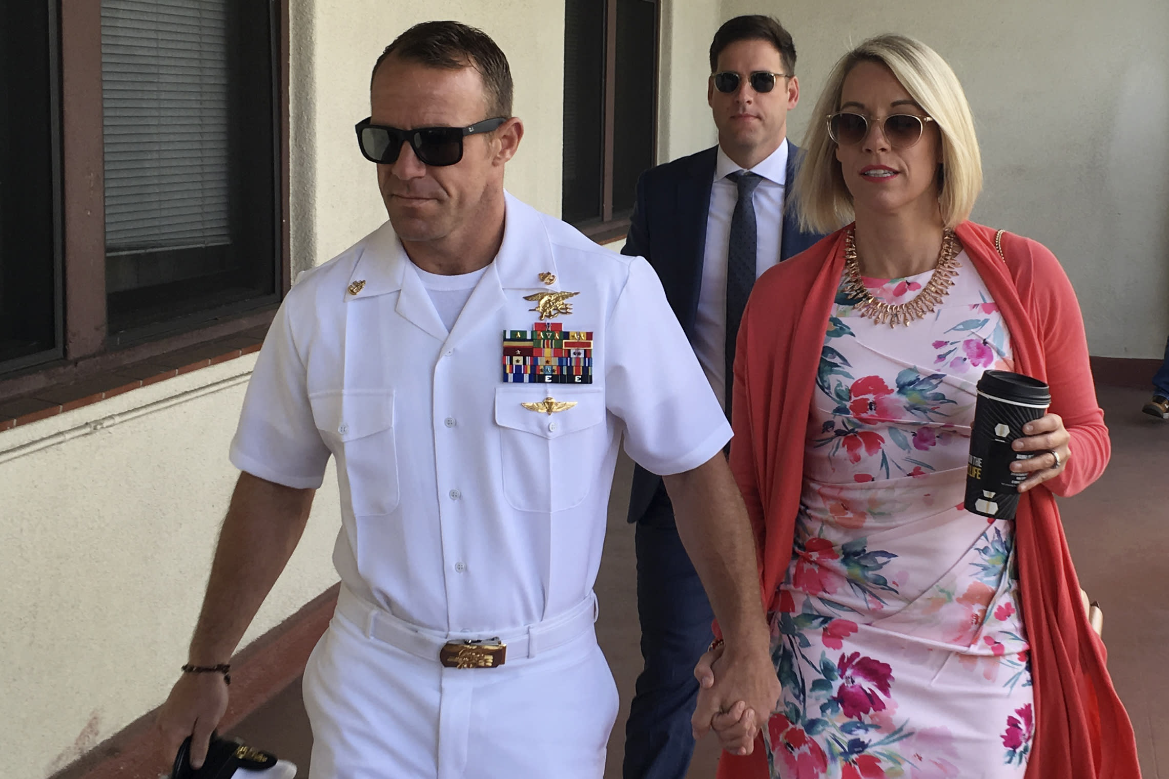Lawyers make closing arguments in U.S. Navy SEAL's war crimes trial