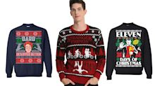 Pop culture-themed ugly Christmas sweaters that will make your holiday brighter