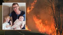 Brave firefighter returns to front line just a day after devastating diagnosis