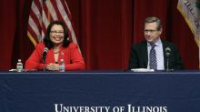 Illinois senator rebuked for cringeworthy debate moment about opponent's heritage
