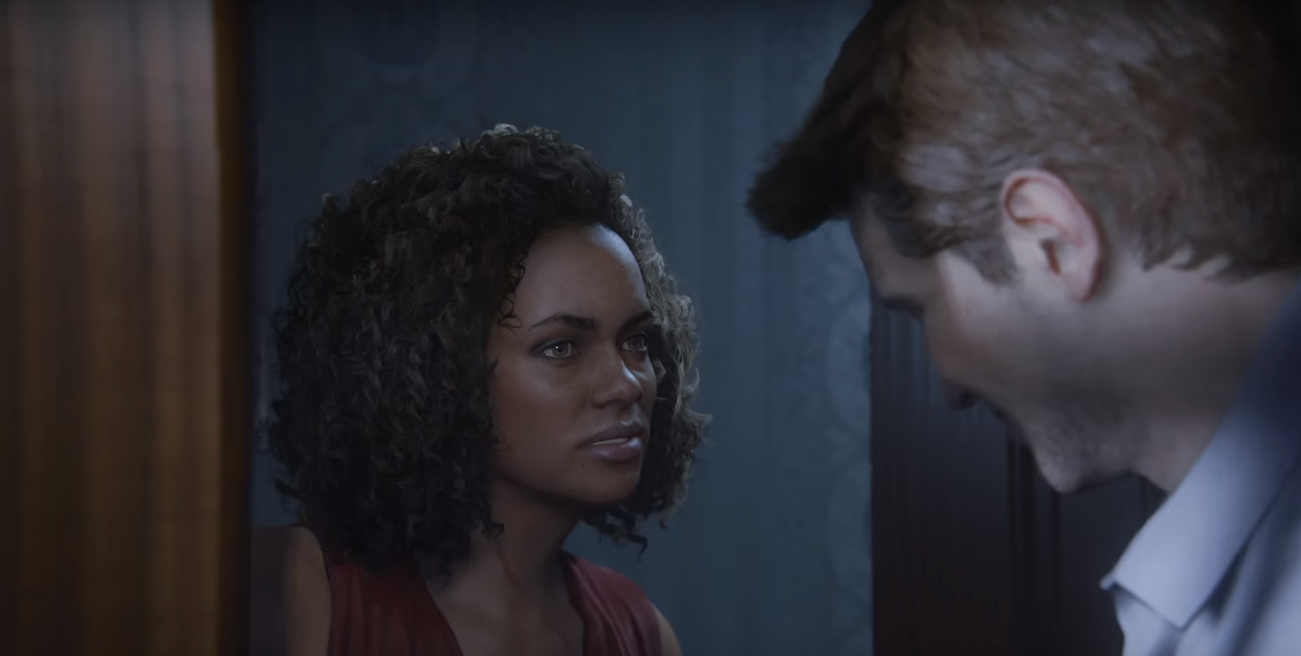 Uncharted 4 A Thief S End Cutscene Reveals One Of Drake S New Rivals