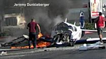 Small Plane Crash in a San Diego Parking Lot Kills Passenger