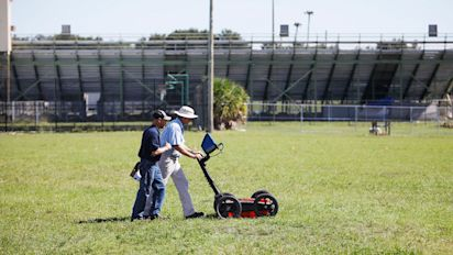Cemetery discovered beneath Florida high school