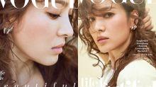 最美麗的準人妻!宋慧喬以復古典雅髮型為《Vogue》拍攝了 3 個封面!