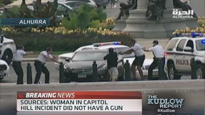 Woman in Capitol Hill incident had no gun: Sources