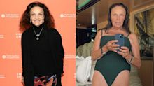 'Own your age': 74-year-old designer Diane von Furstenberg shares swimsuit selfie with empowering message