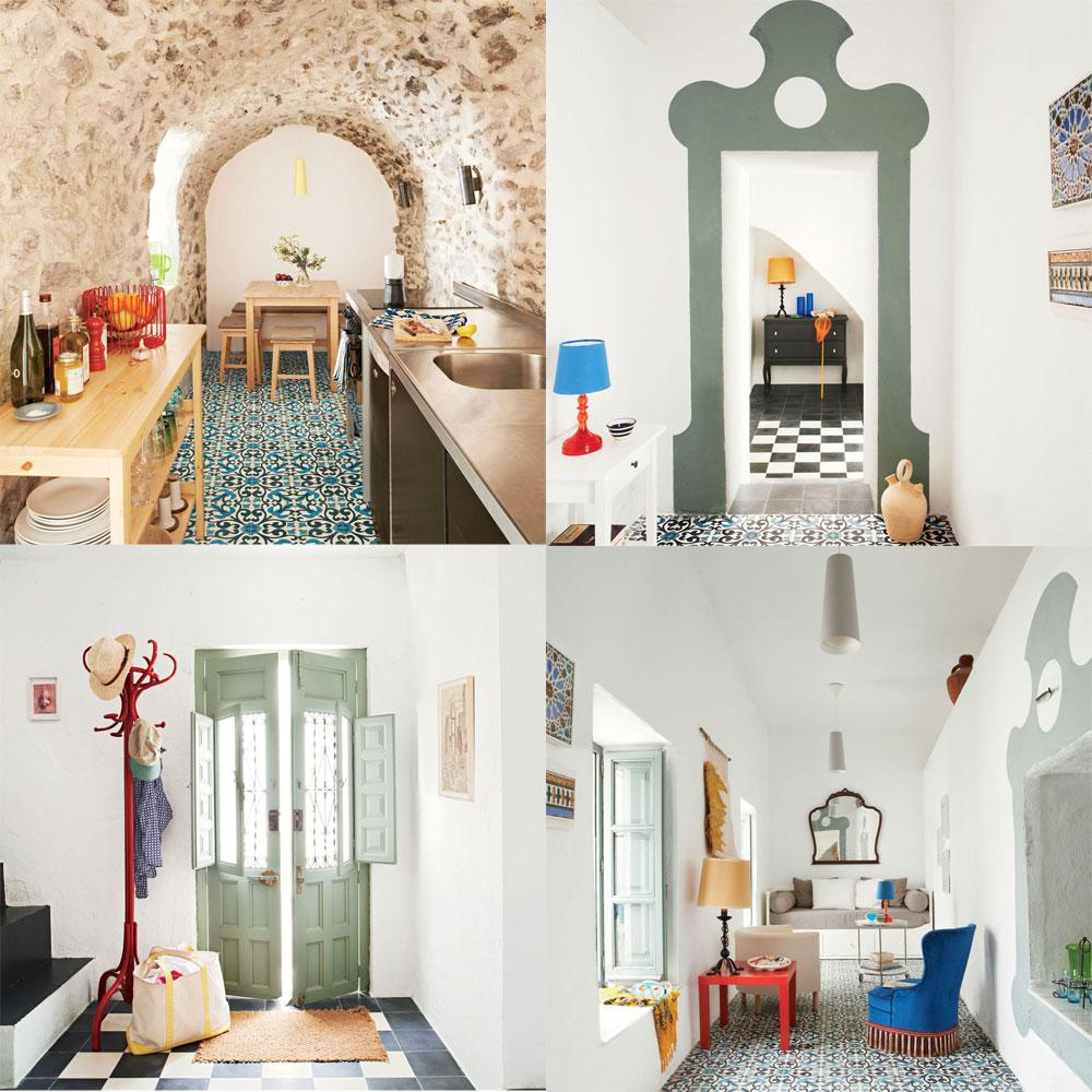 Big Money Homes Interior Design: Small Home With Big Spanish Style