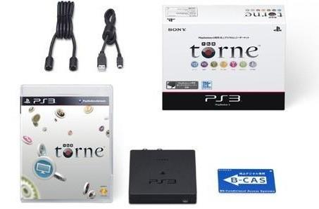 320GB PS3 bundled with Torne DVR in Japan
