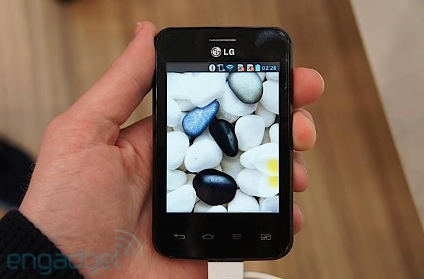 LG Optimus L3 II hands-on: Jelly Bean comes in a pebble (video)