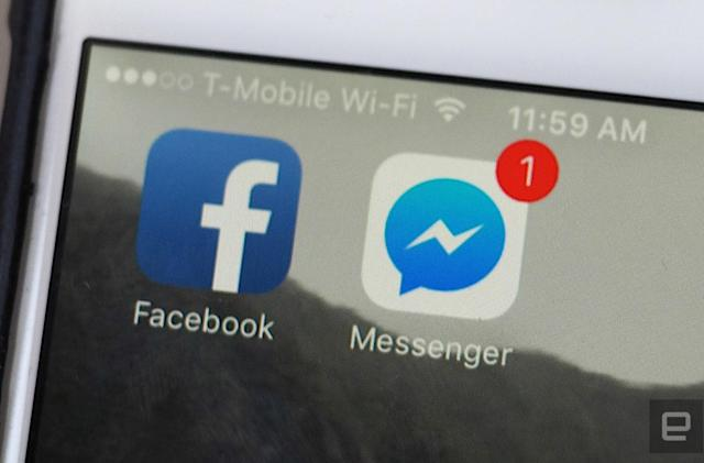 Facebook explores folding Messenger back into the main app