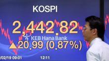 El Kospi pierde un 0,67 % en medio de los temores por el coronavirus