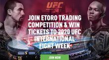 Get up close at the infamous UFC Octagon