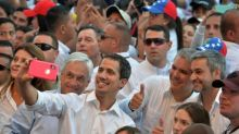 Venezuelan humanitarian aid showdown set as Guaido claims military help