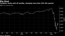 Winners Rise Amid the Losers in Canada's $750 Billion Stock Rout