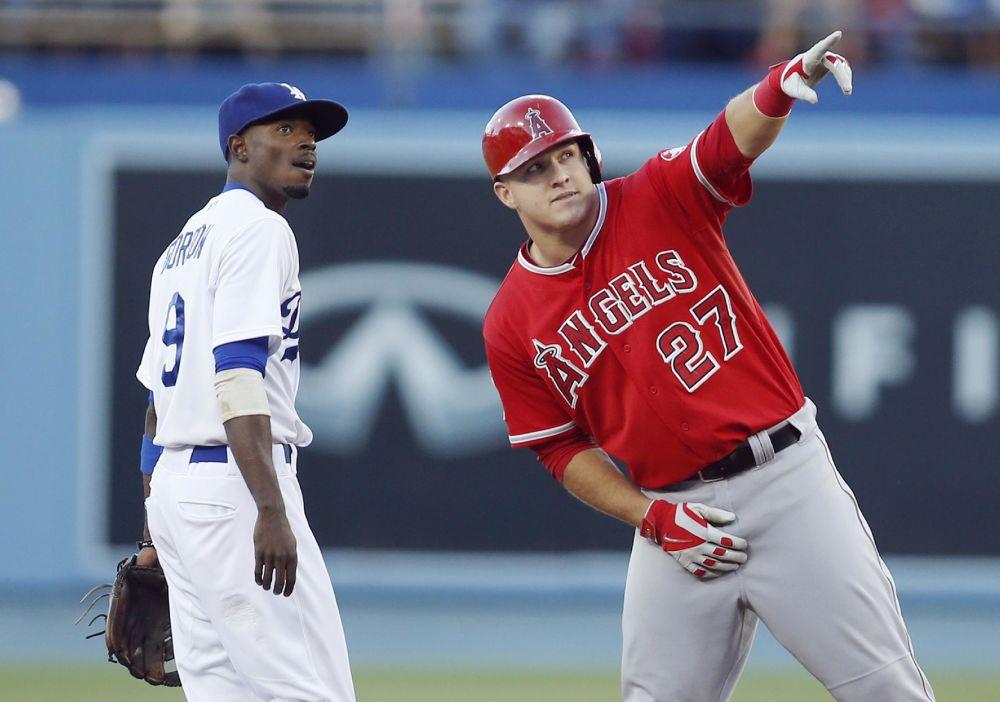 Angels rout Dodgers 5-0 in Freeway Series opener