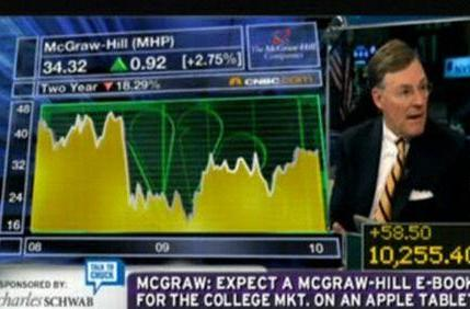 """McGraw-Hill CEO: """"The tablet is going to be just really terrific"""""""
