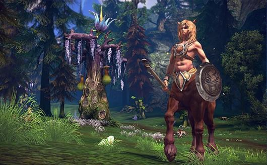 TERA shows off Centaur lore and tactics