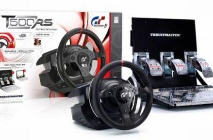 Thrustmaster T500RS steering wheel unveiled: $599 of Gran Turismo perfection