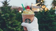 Now on the Menu: Starbucks' Christmas Tree Frappuccino