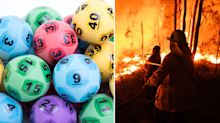 Man's 'incredible' lottery windfall after bushfire tragedy