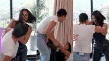 Briga entre Kardashians: Kim sai no tapa com Kourtney