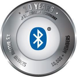 Bluetooth pairs with cake for 10th birthday