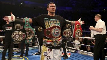 Usyk about to invade the heavyweight division