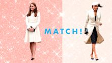 25 Times Kate Middleton and Meghan Markle Dressed Exactly the Same