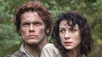 Cast on Love, Weather and Stunts of 'Outlander'
