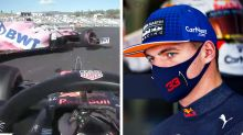 'Is this guy f***ing blind?': Max Verstappen explodes after epic crash