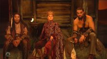 Jason Momoa Reprises Hunky Khal Drogo In 'Game Of Thrones' Spoof On 'SNL'