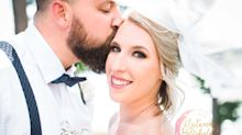This vet and his bride got their dream wedding when a cancelled wedding was auctioned off