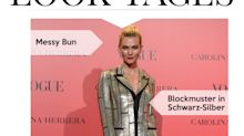 Look des Tages: Karlie Kloss begeistert in Metallic-Blazerkleid