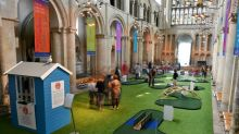 Fairway to heaven? UK cathedral golf course draws fans