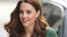 Kate Middleton Wore an Emerald Emilia Wickstead Dress for Her Anna Freud National Centre Event