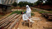 India coronavirus infections near 4 million, closes in on Brazil